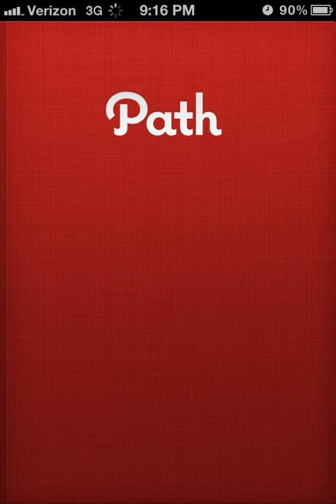 Path iOS App image